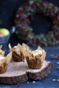 Rezept für Apfel Nuss Muffins