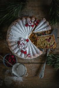 Rezept für Cranberry Kuchen