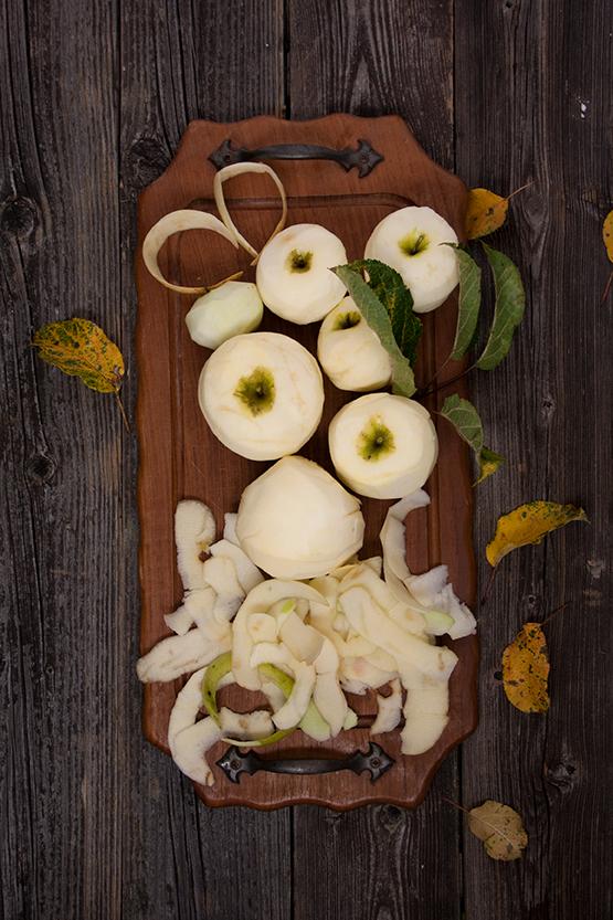 Rezept für gedeckten Apfelkuchen