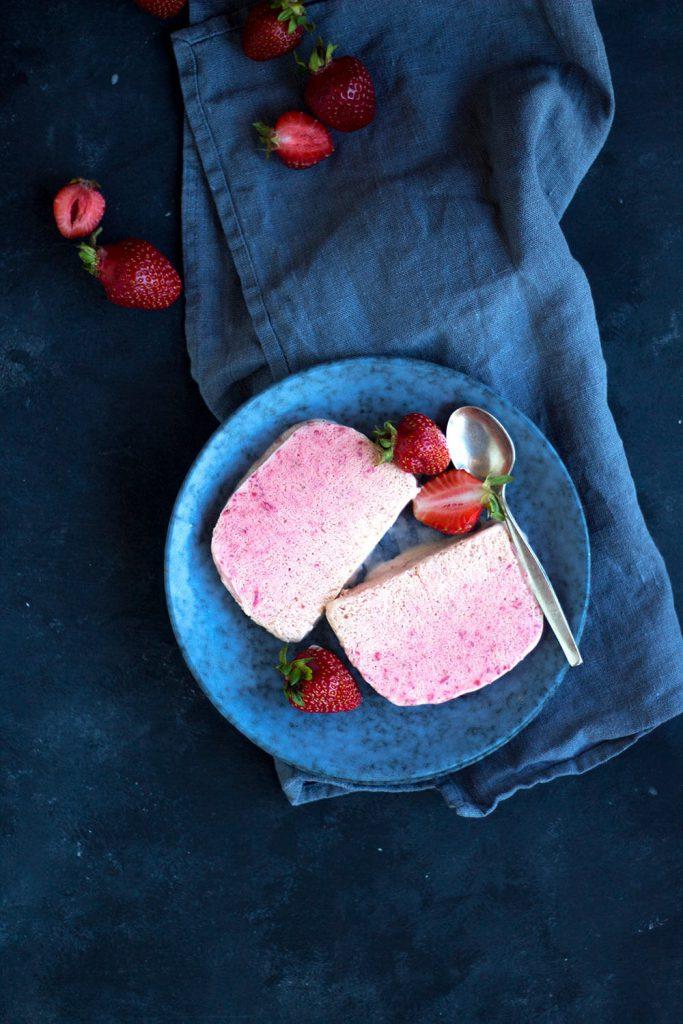 Rezept für Erdbeer-Parfair