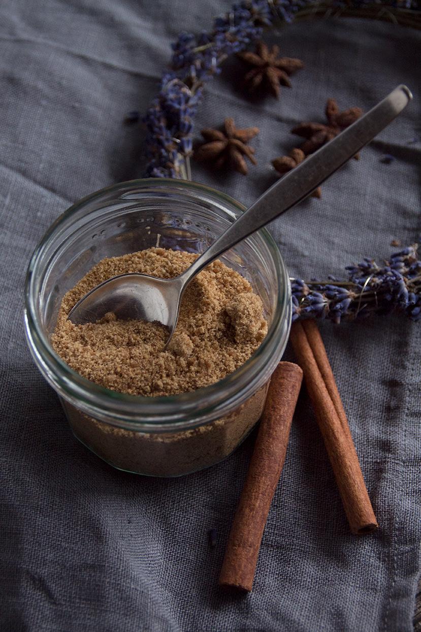 Rezept für winterlicher Gewürzkuchen