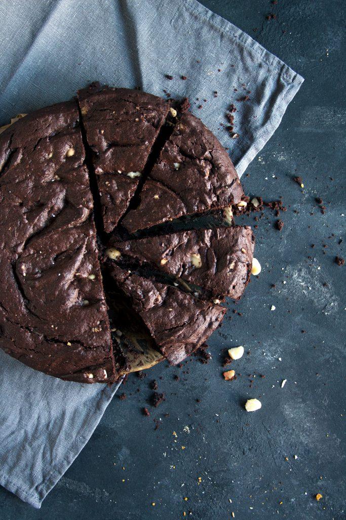 Rezept für Macadamia Brownies