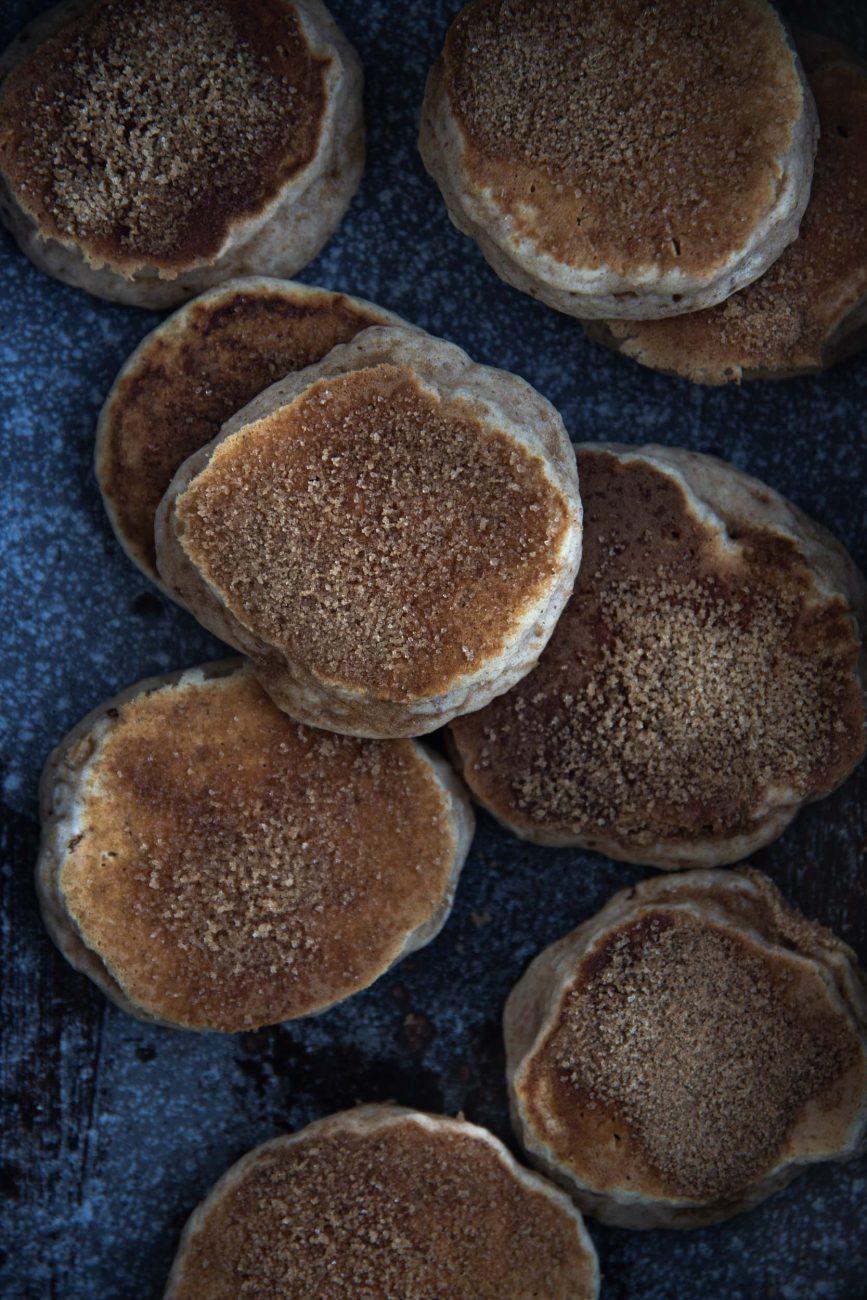 Rezept für gesunde Pancakes