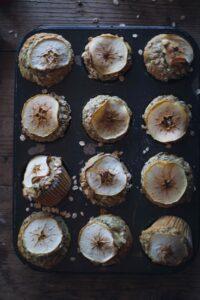 Rezept für schöne Apfelmuffins