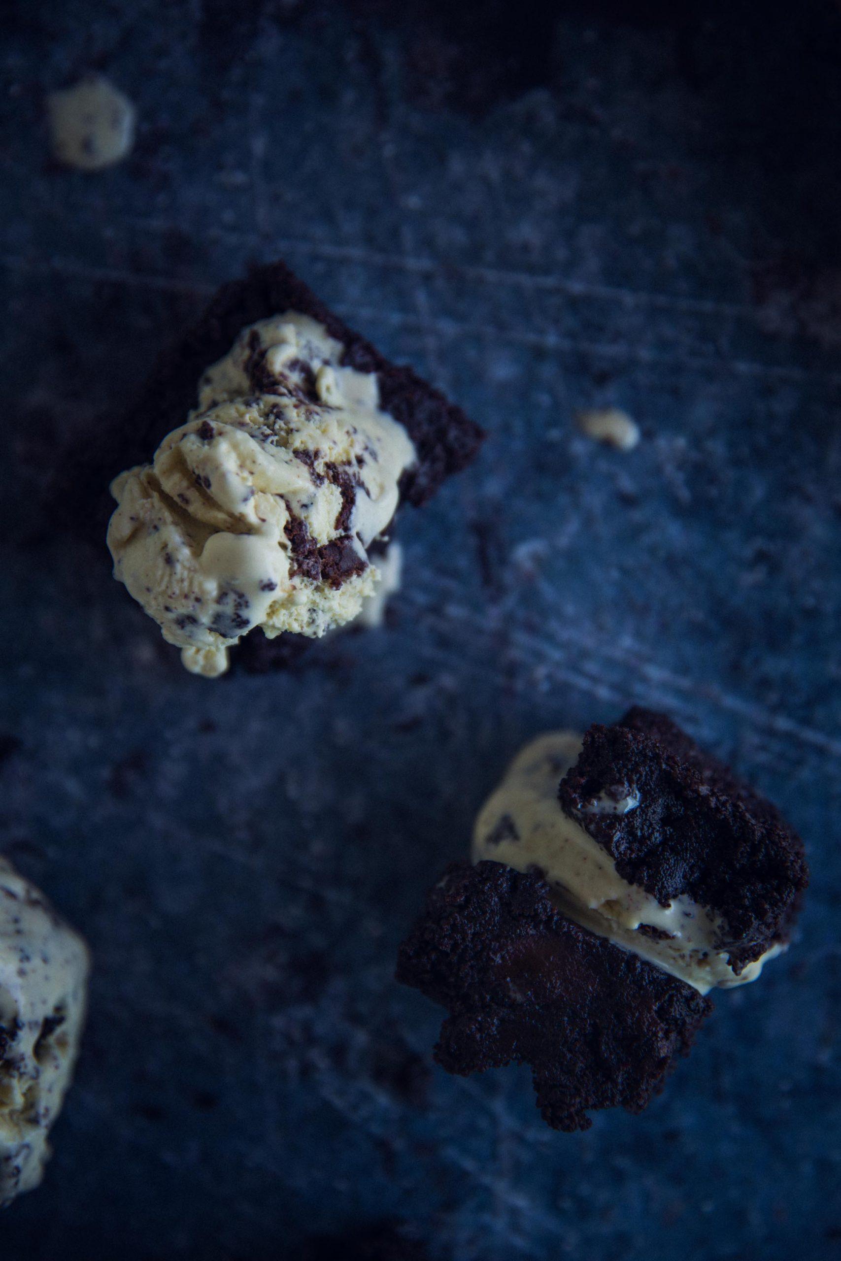 Cremiges Brownie Eis Rezept
