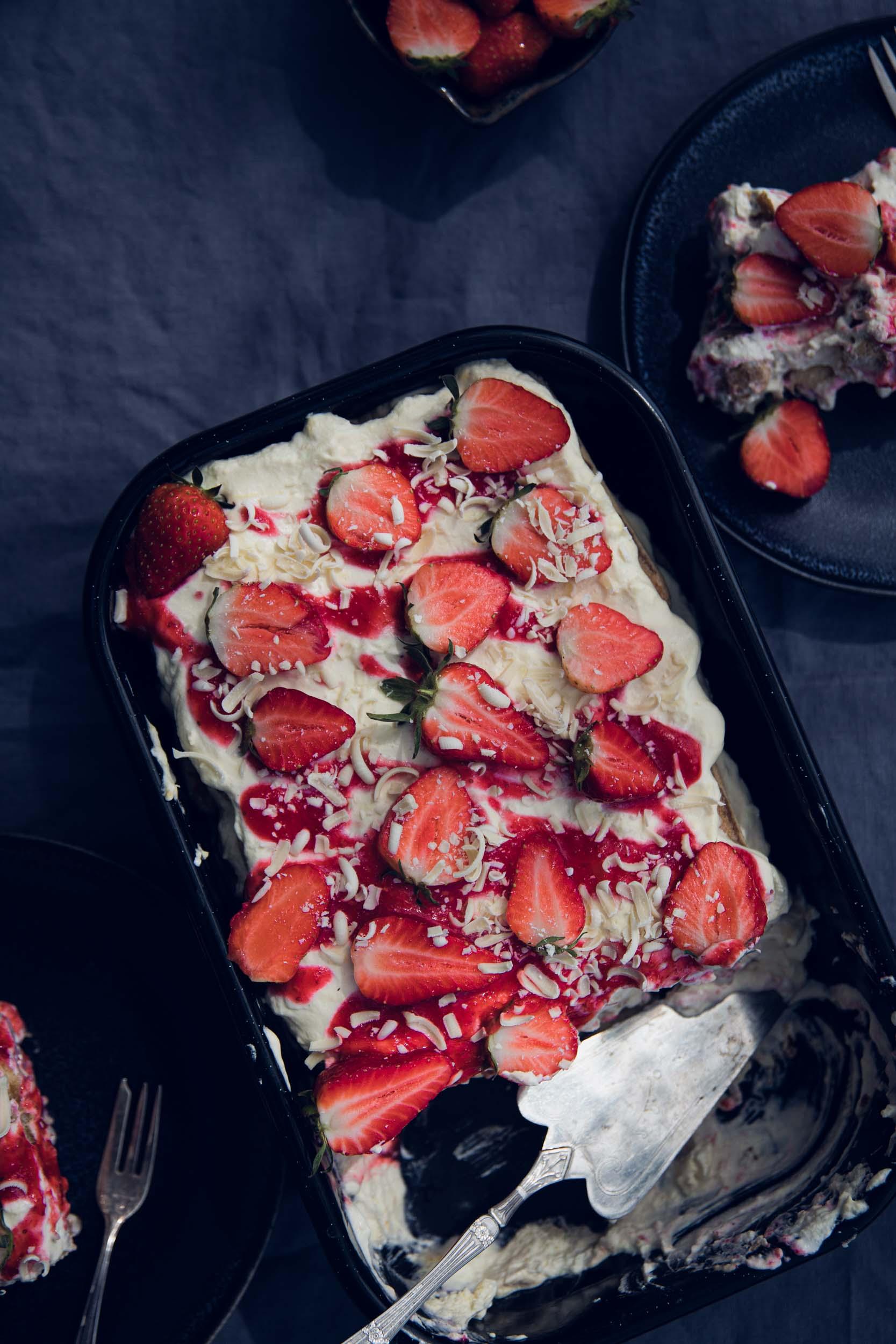 Erdbeer Tiramisu Rezept