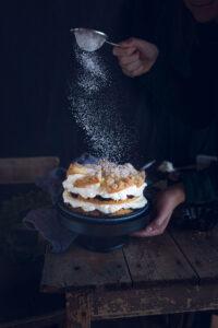 Friesentorte mit Pflaumenmus