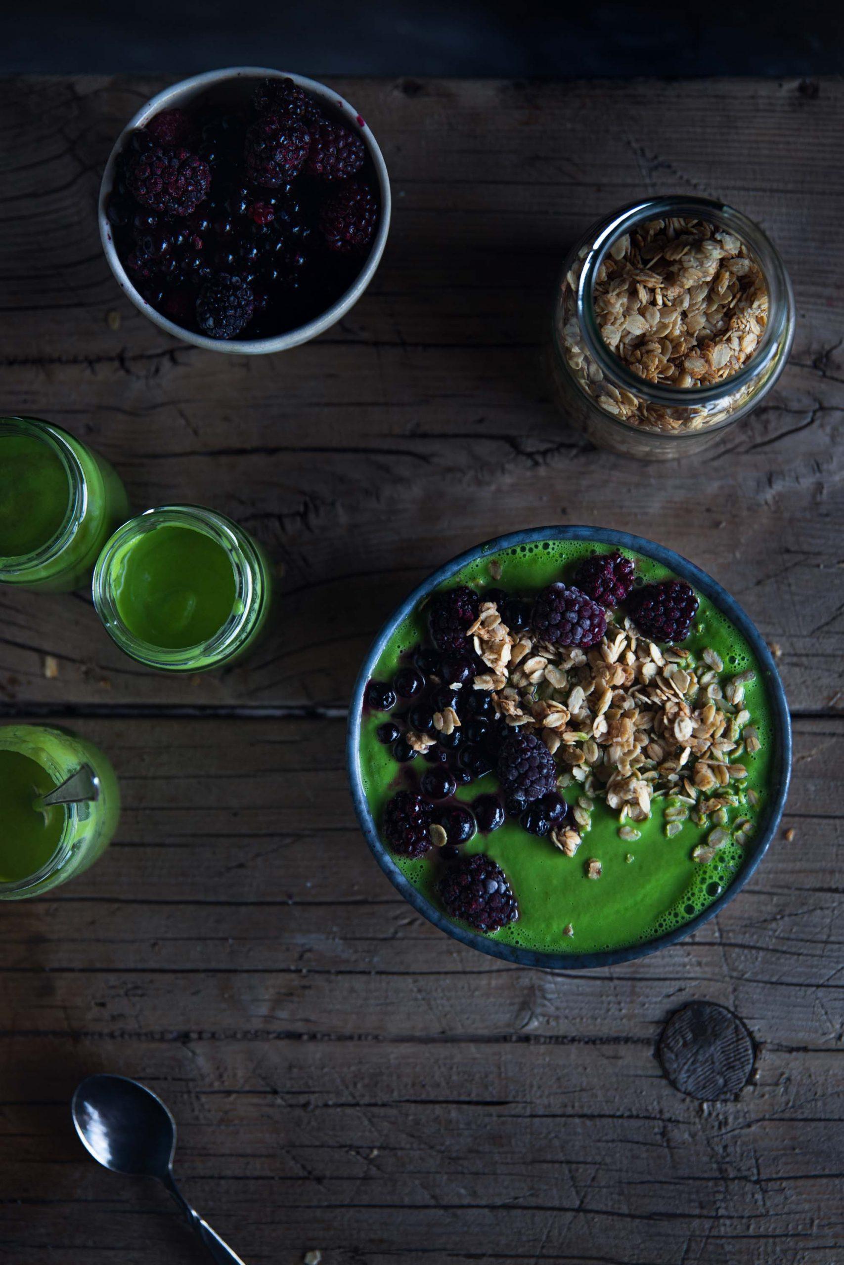 Green Smoothie Bowl Rezept