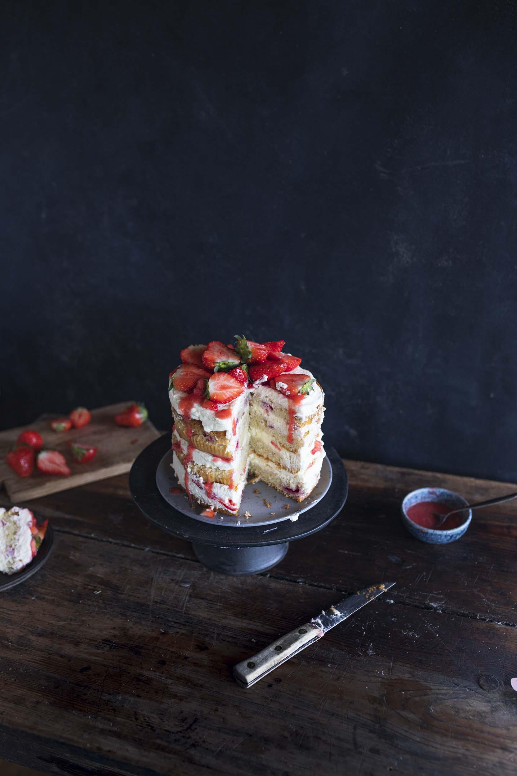 Rezept für Naked Cake