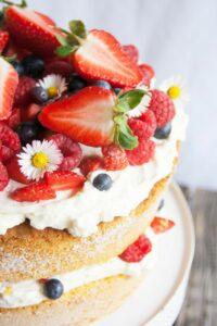 Beeren Torte Rezept